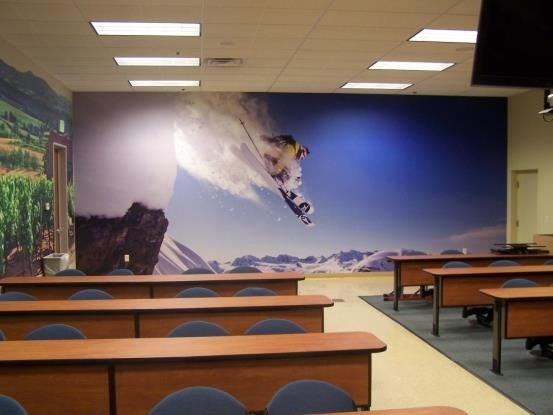 WM043 - Custom Wall Mural for Interior Design